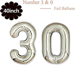 Best 30 year anniversary balloons Reviews