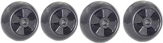 Outdoors & Spares Replaces John Deere AM-116299,M111489,M11149,AM133602 Deck Wheel Kit Set of 4