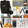 PREPPER'S FAVORITE: Compact Disaster 72 Hr Survival Kit with Food, Water Straw Filter, First Aid, Fire Starter, Tools, Lights and Sleeping Bag. Ideal For Get Home Bag, Mini Bug Out Bag, Earthquake Kit from Advanced Emergency Preparedness, LLC