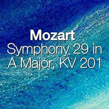 Mozart Symphony 29 in A Major, KV 201