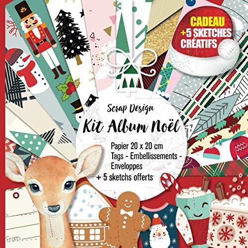 Kit Album Noël par Scrap Design