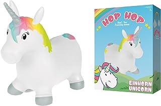 John Unicornio Hop Hop Pony saltar Unicorn 55 cm