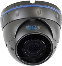 GW Security VD5489IP H.265 POE IP Security HD IP 5MP (1920P/1080P) Varifocal Dome Camer (Gray)