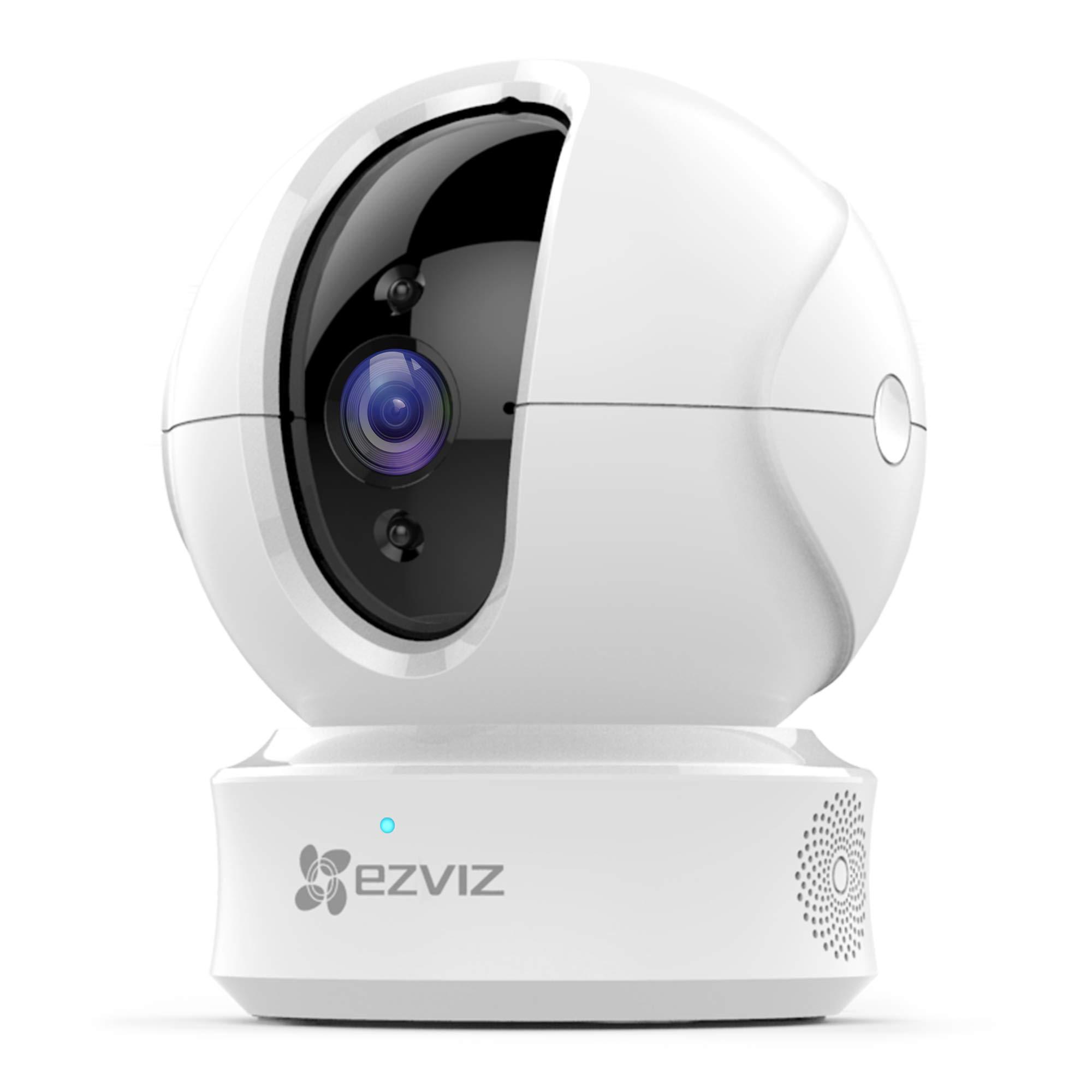 EZVIZ C6T Motorized Internal Wi-Fi Camera, White - Buy Online in KSA
