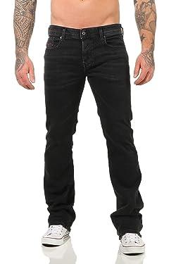 "Diesel ""Boot Cut Stretch-Jeans Zatiny R4Q80 Black"
