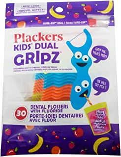 Plackers Kids 1st Floss Picks - Berry 2-Pack