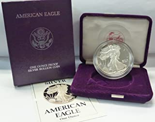 1988 S American 1 oz. Silver Eagle Dollar Proof US Mint