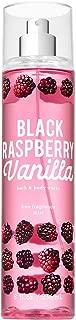 Bath and Body Works BLACK RASPBERRY VANILLA Fine Fragrance Mist 8 Fluid Ounce (2019 Edition)