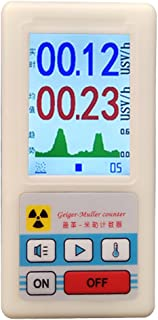 Professional geiger Counter Nuclear Radiation Detector Personal dosimeters Marble Detector Nuclear Radiation Meter Beta Gamma X ray Data Marble Tester ore Gamma Rays Uranium Monitor