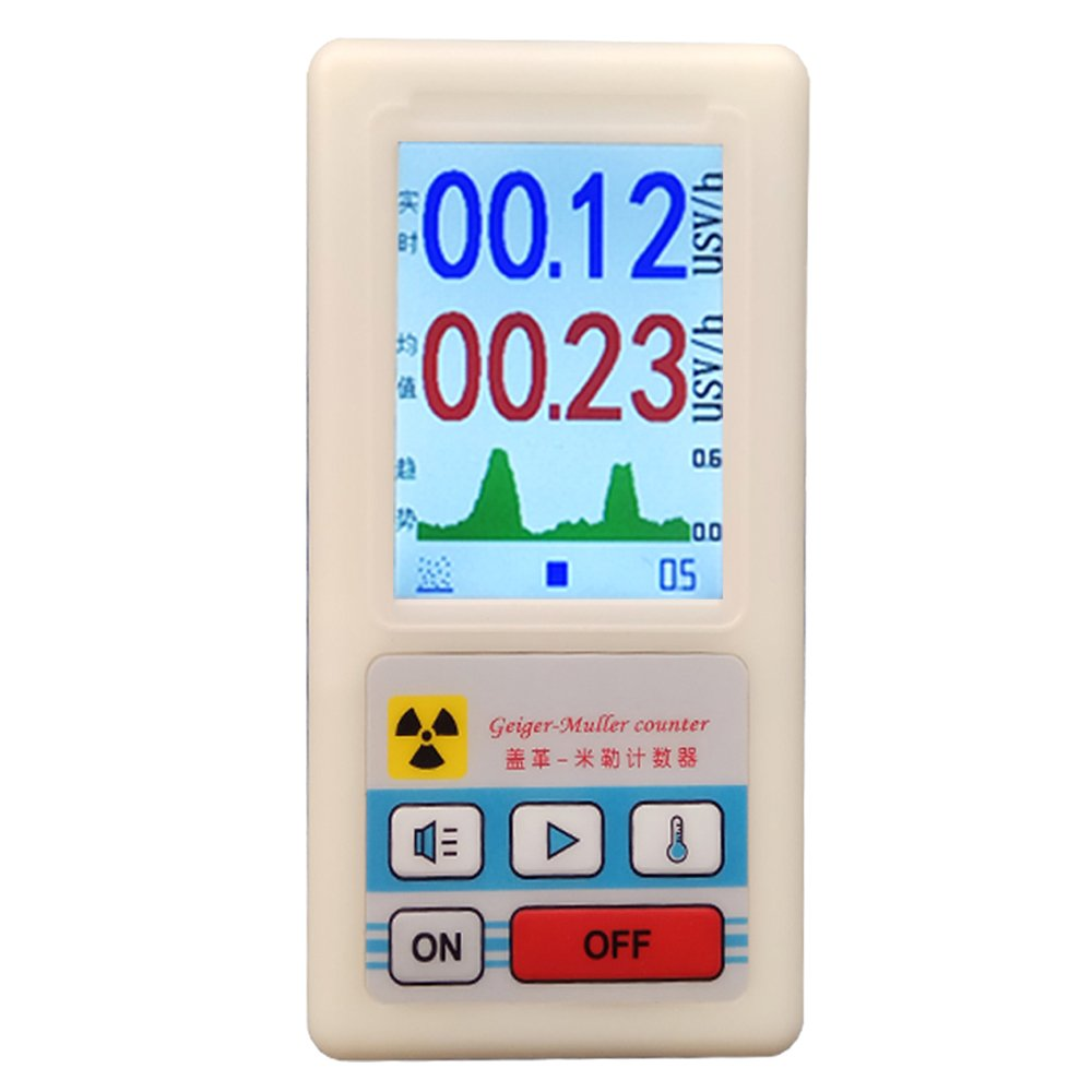 Fashionable Professional geiger Counter Industry No. 1 Nuclear Personal Detector Radiation