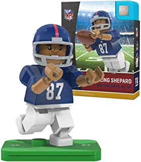 NFL New York Giants Sports Fan Bobble Head Toy Figures, Blue/White, One Size