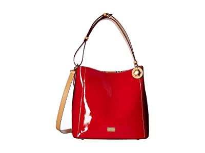 Frances Valentine Medium June Hobo (Red) Hobo Handbags