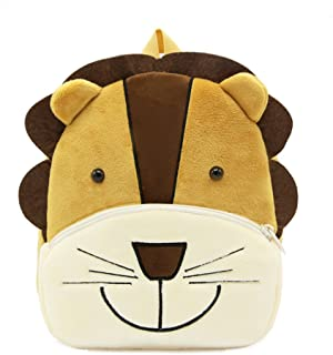Cute Toddler Backpack,Cartoon Cute Animal Plush Backpack Toddler Mini School Bag for Kids Age 1-5 Years Old