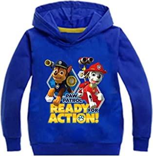 XMTIHE Kids Youth Teen Titans Go Pullover Fleece Hooded Sweatshirts-Graphic Long Sleeve Hoodies with Pocket