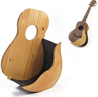 Ukulele Wooden Wall Hanger by Hola! Music - Natural