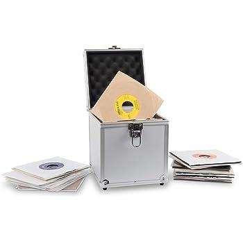 Acc-Sees Pro Vinyl 45 - Caja de almacenamiento para discos de ...