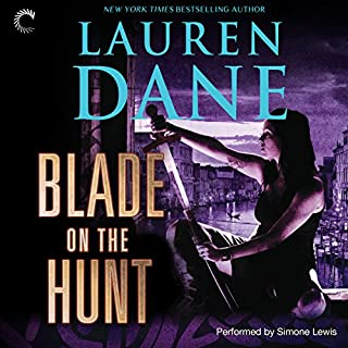 Blade on the Hunt     Goddess with a Blade, Book 3              By:                                                                                                                                 Lauren Dane                               Narrated by:                                                                                                                                 Simone Lewis                      Length: 9 hrs and 33 mins     106 ratings     Overall 4.4