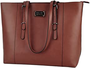 ZYSUN Laptop Tote Bag Fits Up to 15.6 IN Awesome Gifts for Women