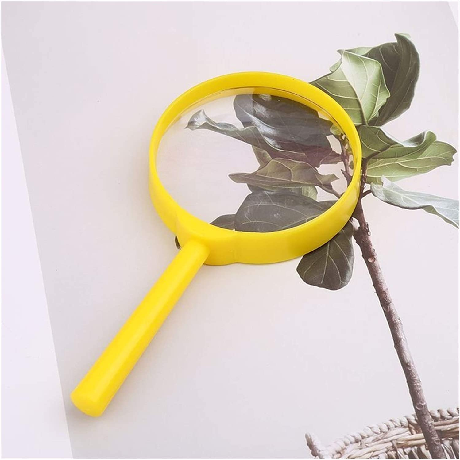 CMMWA Portable Reading Magnifier Handheld 55mm Ma 3X Shipping included Super popular specialty store HD
