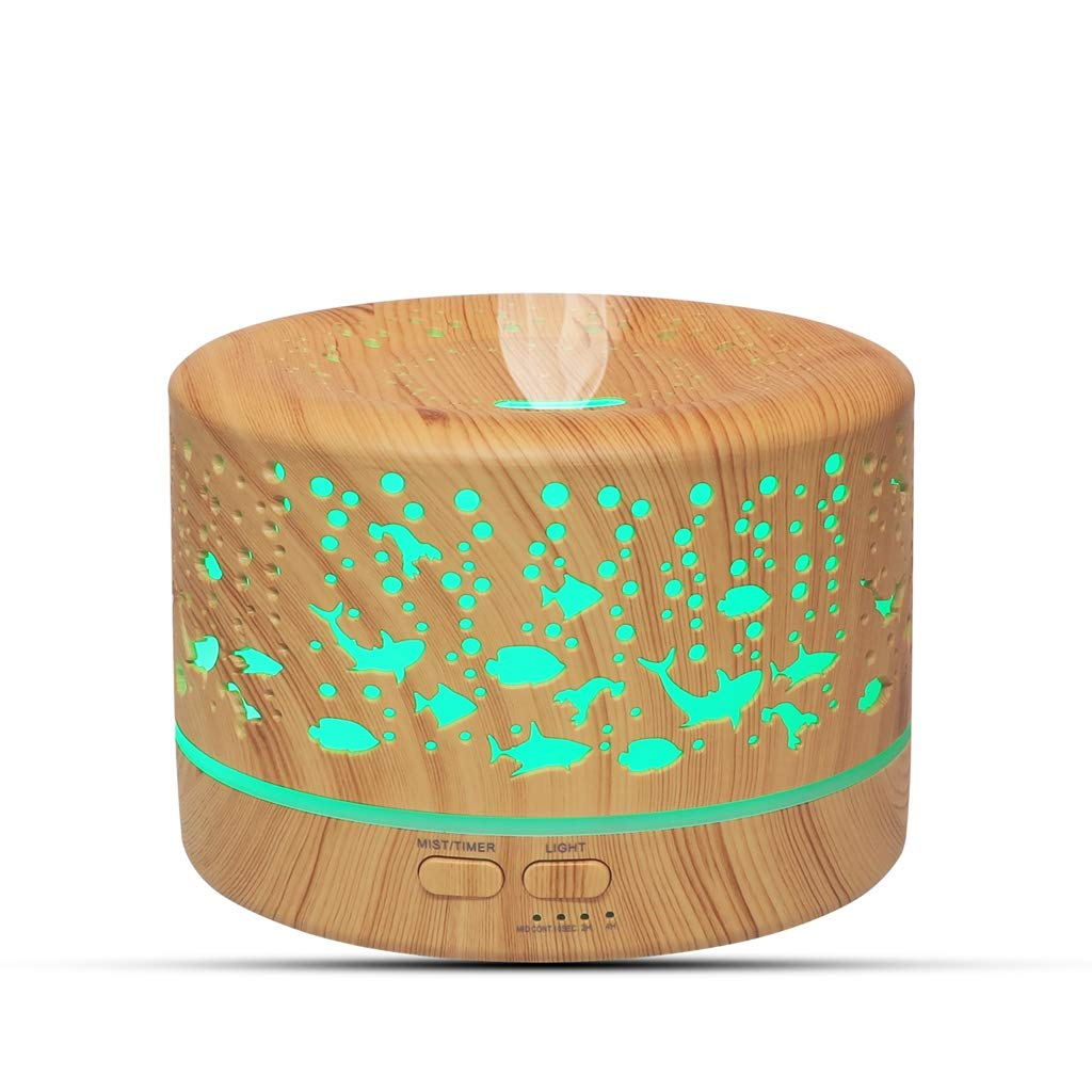 Max 59% OFF Aromatherapy Diffuser Essential Oil Ul Wood Grain 700ml Mail order