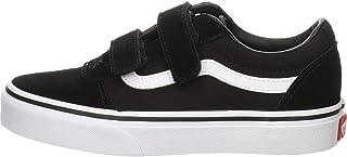 Vans Ward V-Velcro Suede, Sneaker Bambino