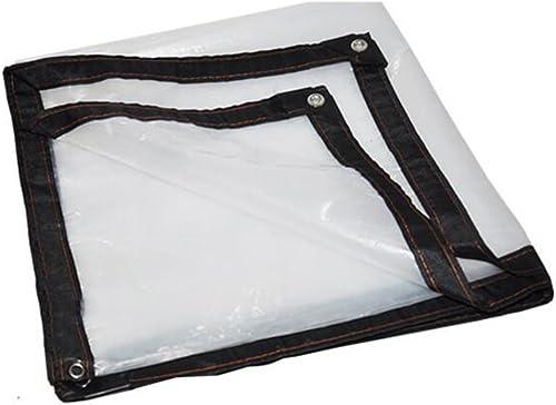 QRFDIAN Film Plastique épais, Tissu de Plastique, Bordure Isolation de la Viande, Aucun Film Anti-Goutte, Coupe-Vent, résistant à la Pluie, au Froid, auvent
