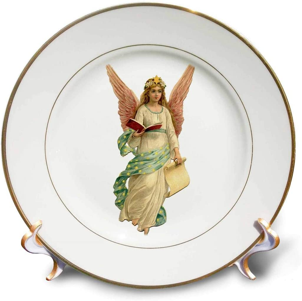 3dRose Gifts cp_172157_1 Vintage Angel 8