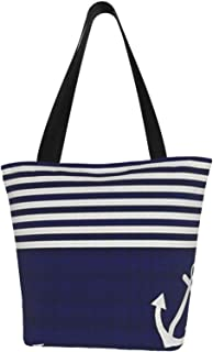 Details about  /Nautical Summer Ladies Tote Bag