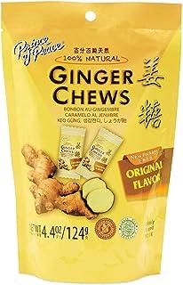 Prince of Peace Original Ginger Chews, 4 oz. – Candied Ginger – Candy Pack – Ginger Chews Candy – Natural Candy – Ginger C...