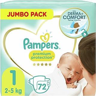 Pampers Premium Protection Luiers Maat 1 (2-5kg) 72 stuks