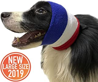 MG+ Pet Products Dog Snood for Dog Neck and Ears Warmer, Dog Costume for Comfort and Protect Your Dog, Helps Calm, Provides Anti Anxiety Relief, Suitable for Wearing in Bathing, Beauty