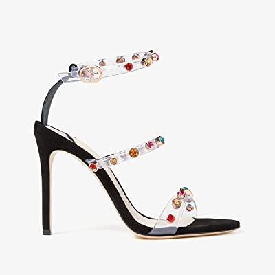 Sophia Webster Rosalind Gem Sandal (Black/Multi) Women