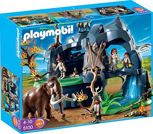 Playmobil 5100 - Große Steinzeithöhle mit Mammut