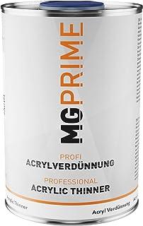 MG PRIME 1 Liter 1K 2K Acrylverdünner Acrylverdünnung für Autolack Basislack Klarlack Füller Grundierung