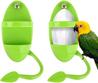 Boisbresil 2PCS Mangeoires À Oiseaux Mangeoire à Oiseaux Exterieur Mangeoire à Oiseaux Suspendue Distributeur de Nourritur...