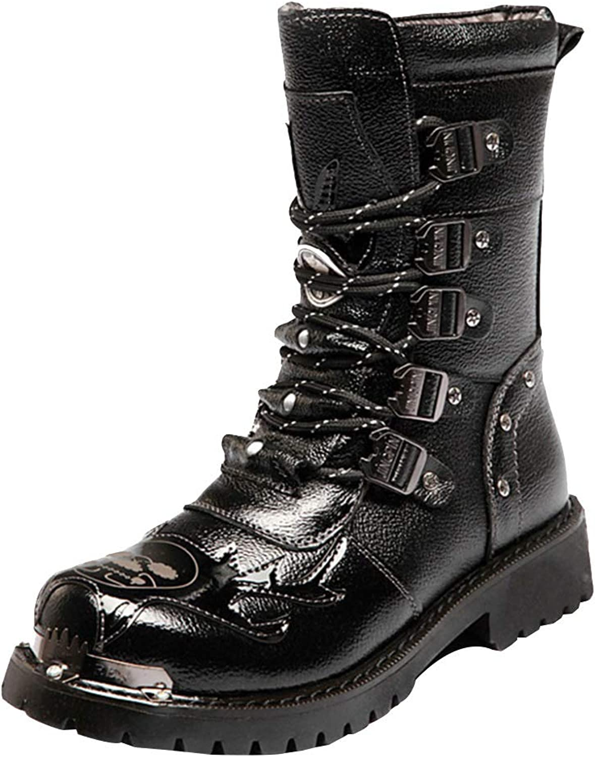 Waterproof High Boots Men's Warm Martin shoes Wear Non-Slip Boots