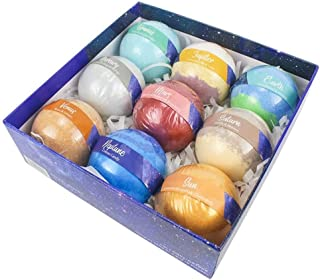 Aroma bath bombs suspension bath ball 160g * 9 explosion salt ball bath ball bath bomb suit kit cradle Natural Quality (Size : Star box 160g*9/set)