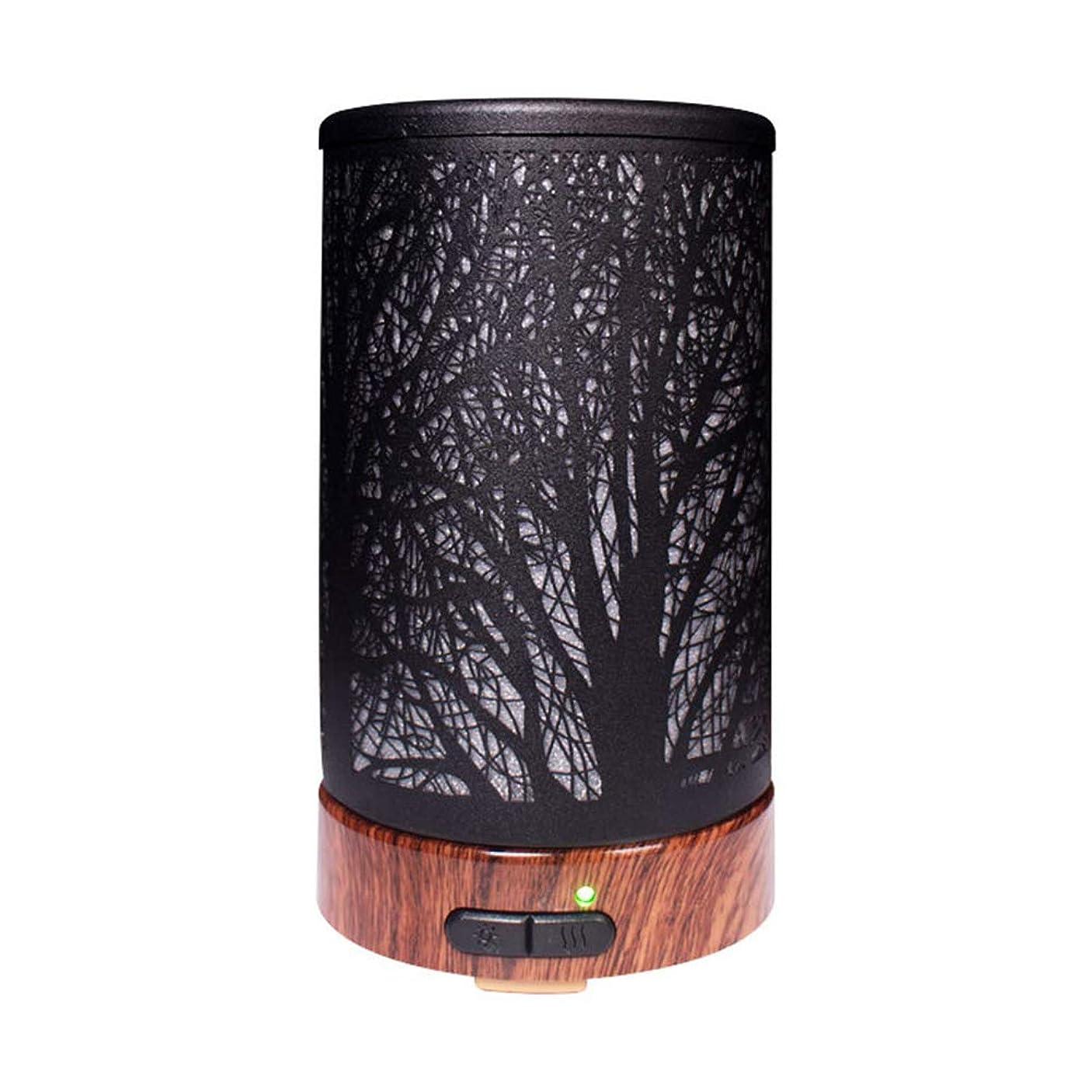 ワーム先見の明貞エッセンシャルオイルディフューザーと加湿器、ミストエッセンシャルオイルアロマ加湿器用の超音波アロマディフューザー、7色LEDライト