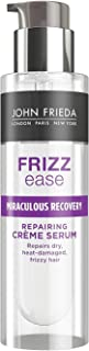 JOHN FRIEDA Frizz Ease Miraculous Recovery Repairing Creme Serum 50ml - Help seal split ends. For silky-smooth strands