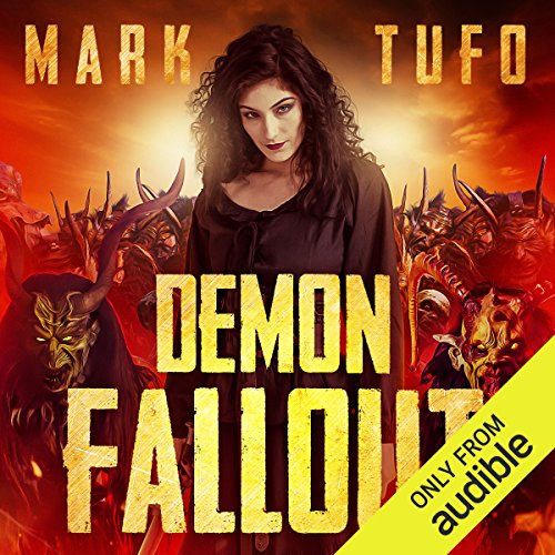 Demon Fallout audiobook cover art