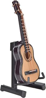 Eulbevoli en Bois, simulé, 8 cm, décor de modèle de Guitare, Couleur Bois, pour Amis Musiciens pour bibliothèque(Wood Colo...