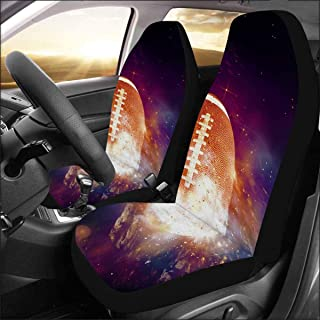 Best purple zebra seat covers Reviews