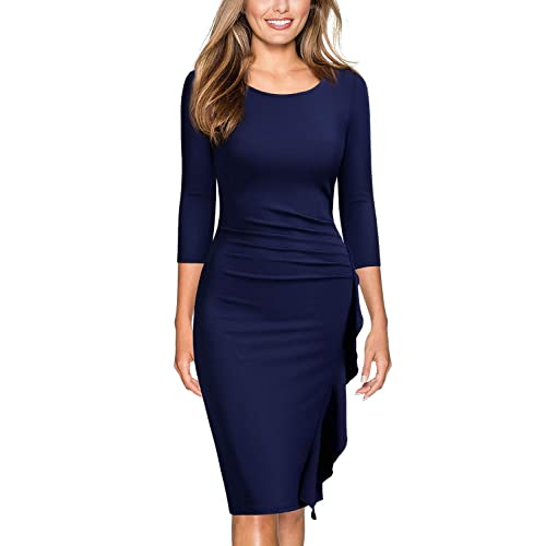 Navy Blue Dresses for Wedding: Amazon.com