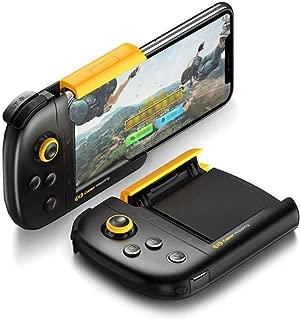 【Bluetooth不要 真・物理接続】 Flydigi キバチ(黄蜂) iphone専用ワイヤレスコントローラー PUBG 荒野行動 mobile legends対応 ワイヤレスゲームパット Bluetooth不要 プラグアンドプレイ式 射撃ボタン付き 優れたゲーム体験