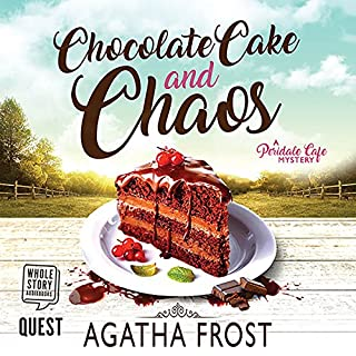 Chocolate Cake and Chaos audiobook cover art