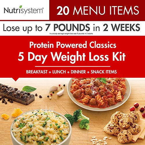 Nutrisystem 5 Day Weight Loss Kit, Protein Powered