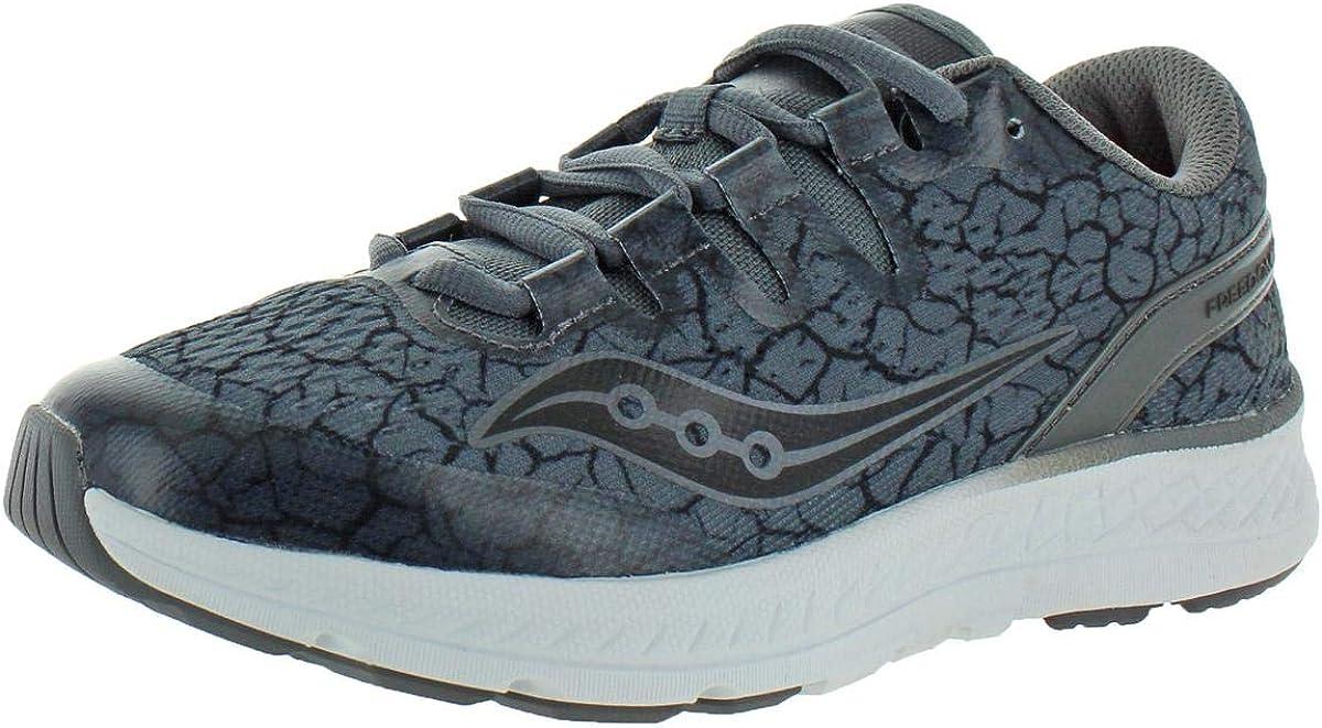 Saucony Boys Freedom ISO Performance Running Shoes Gray 4 Medium (D) Big Kid