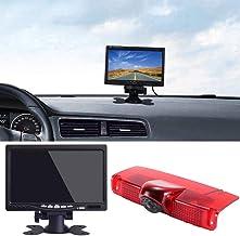 "$119 » Navinio New Version Car Third Roof Top Mount Brake Lamp Camera Brake Light Rear View Backup Camera+7"" LCD Car Dashboard Co..."