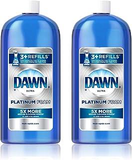 Dawn Platinum Erasing Dishwashing Foam Refill, Fresh Rapids, 30.9 Fl Oz (Pack of 2)