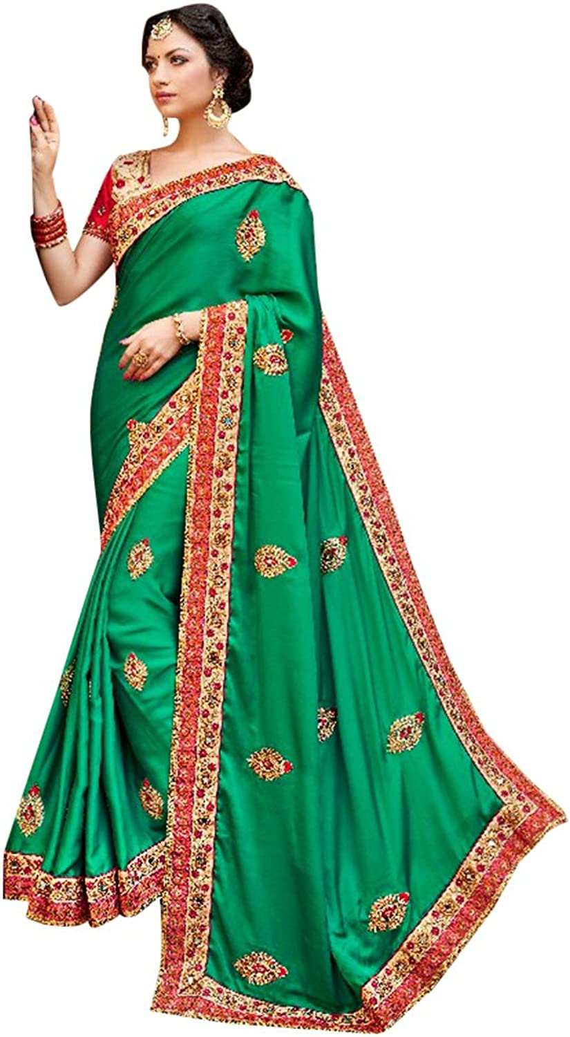 Bridal Ethnic Bollywood Collection Saree Sari Ceremony Bridal Wedding 760 6